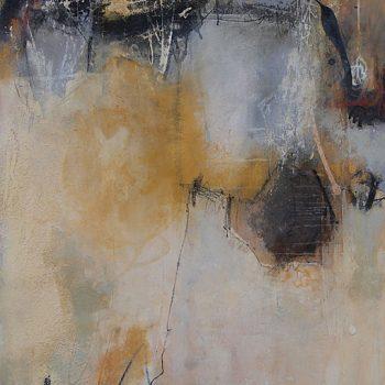Abstrakte Malerei Bild 121 Keilrahmen 100x80x3,5cm