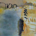 Abstrakte Malerei Bild 330 Keilrahmen 70x70x1,8cm