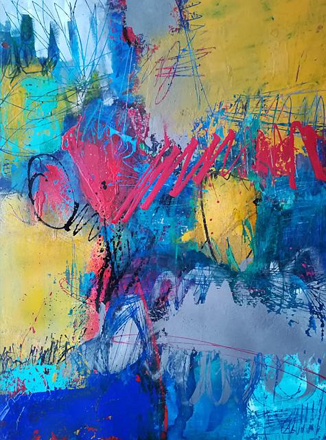abstrakte Malerei Bild M 20