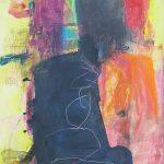 Abstrakte Malerei Bild M17 Malplatte 80x60cm