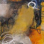 Abstrakte Malerei Bild 239 KR 60x50x3,5cm