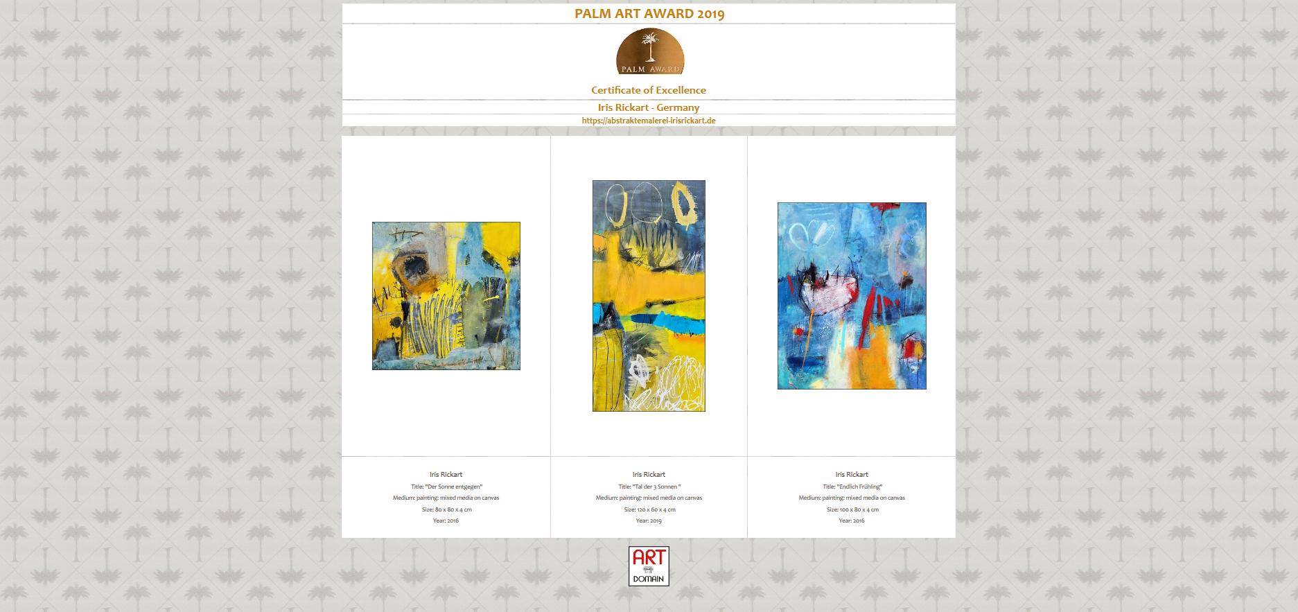 Auszeichnung Abstrakte Malerei