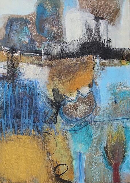Abstrakte Malerei Nr. 110 KR 70x50x3,5 cm