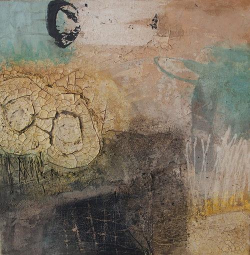 Abstraktes Bild Nr. 323 KR 50x50x1,8 cm