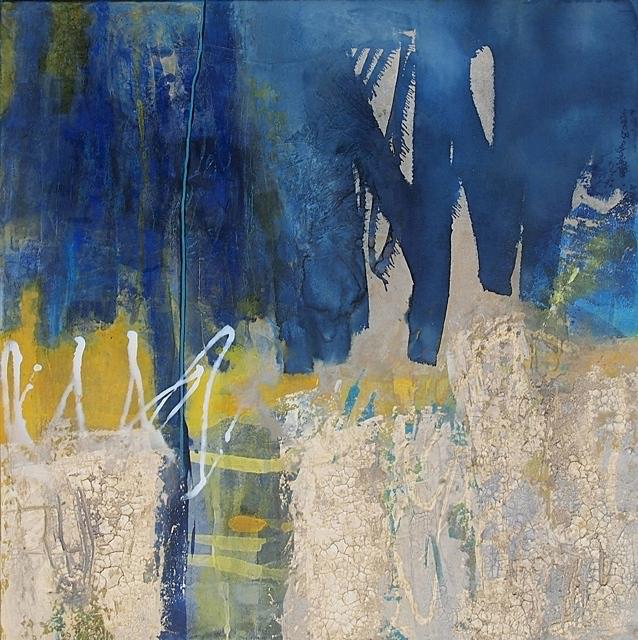 Abstrakte Malerei Bild 175 KR 100x100x4cm