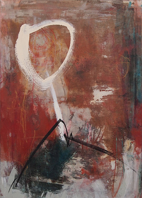 Abstrakte Malerei Bild 188 KR 70x50x1,8cm