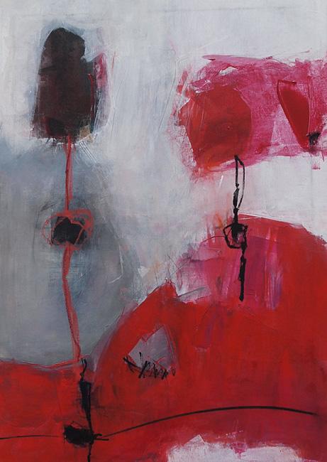 Abstrakte Malerei Bild 191 KR 70x50x1,8cm