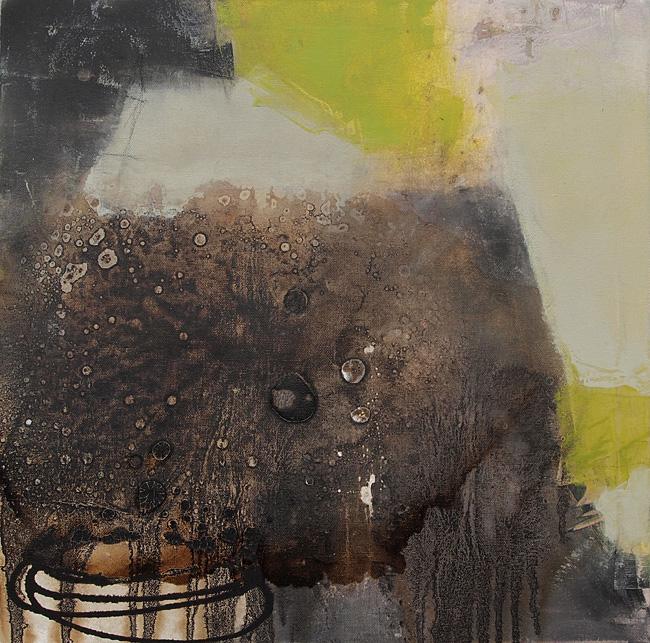 Abstrakte Malerei 192 KR 50x50x1,8cm