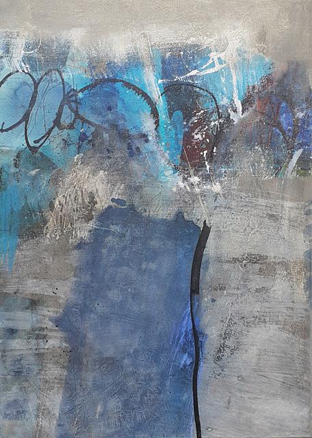 Abstrakte Malerei Bild 210 KR 70x50x1,8cm