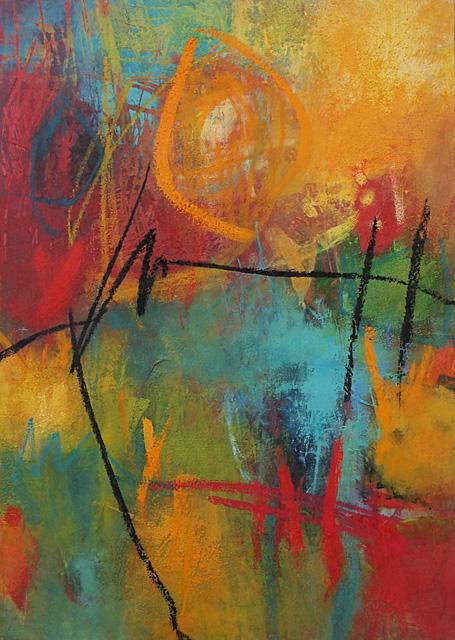 Abstrakte Malerei Bild 211 KR 70x50x3,5cm